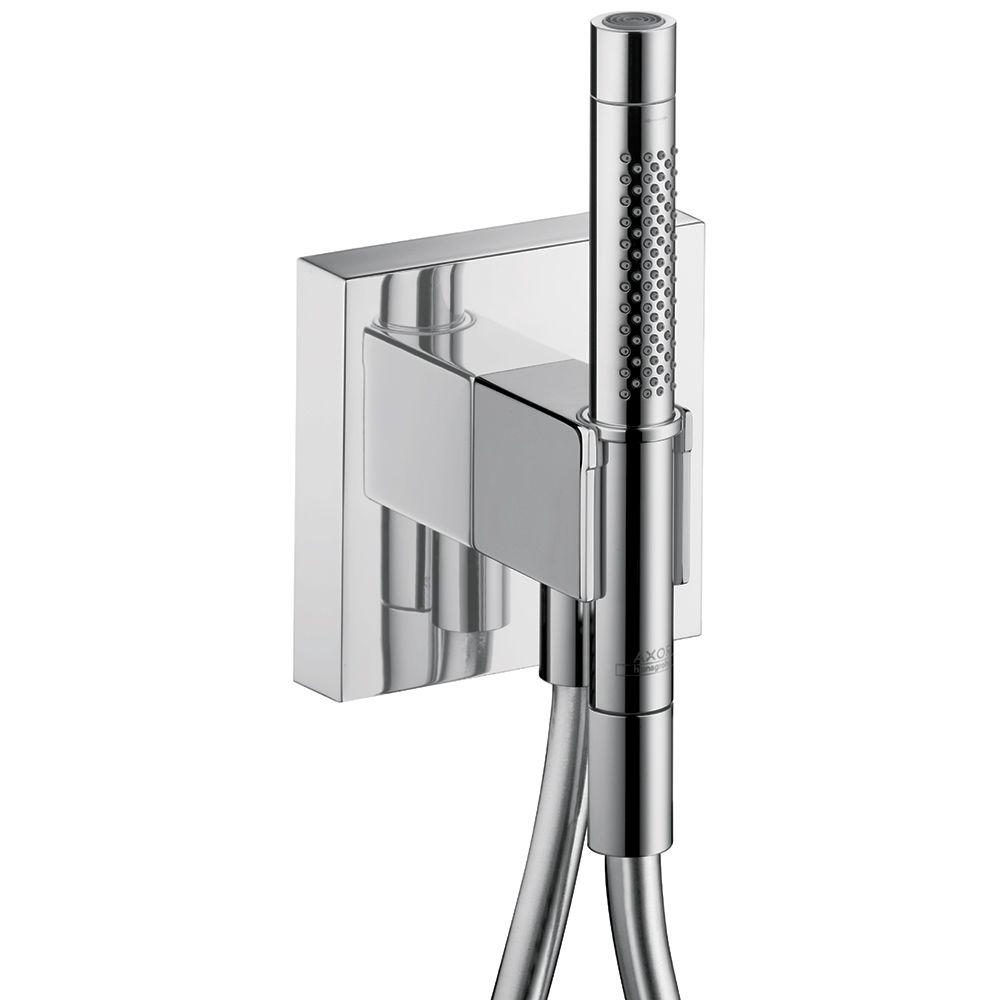 Hansgrohe Axor Starck Organic Porter Holder with 2-Spray Handshower ...