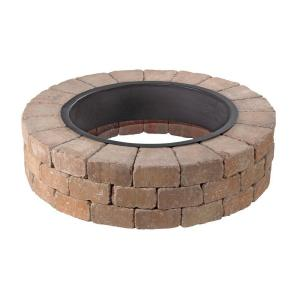 Necessories Grand 48 In Fire Pit Kit In Desert 3500002 The Home Depot
