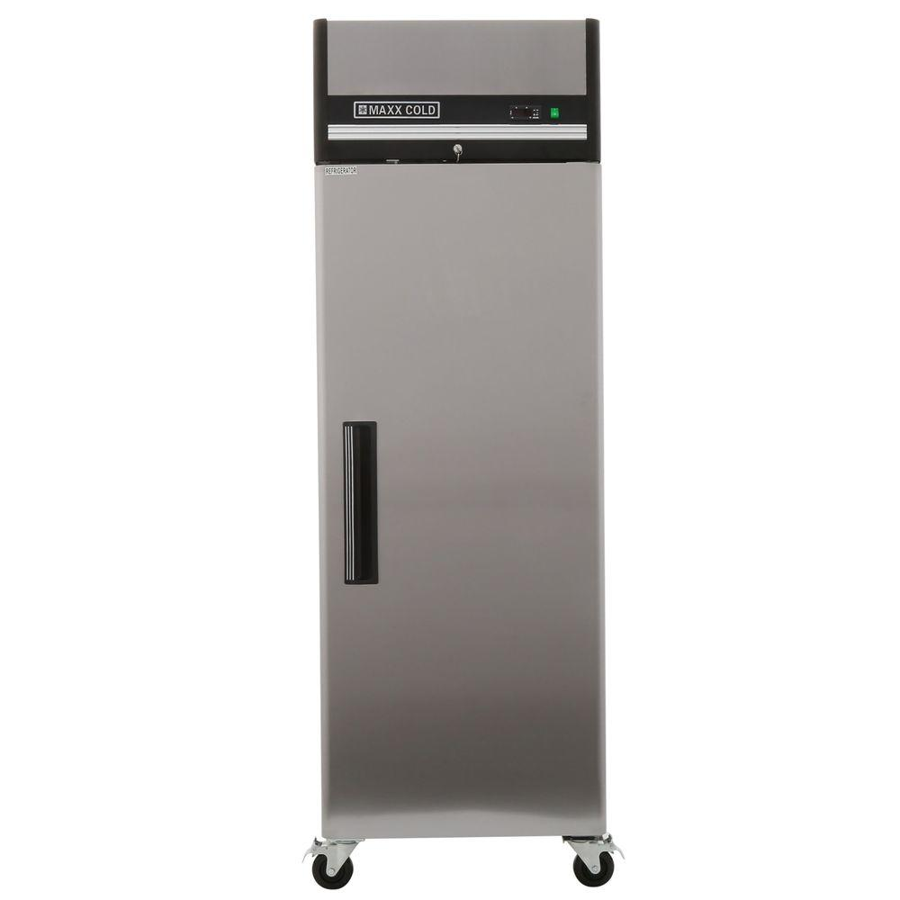 X-Series 23 cu. ft. Single Door Commercial Reach In Upright Refrigerator
