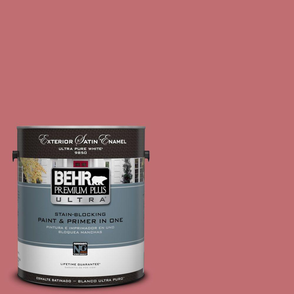 BEHR Premium Plus Ultra 1-gal. #HDC-SP14-8 Art House Pink Satin ...