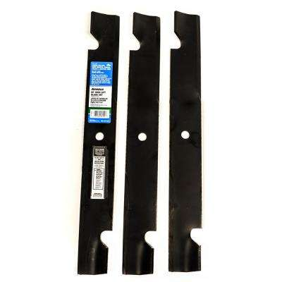 60 in. High-Lift Blade Set for Bad Boy, Exmark, Toro, Ariens, Dixie Chopper, Dixon, Gravely Mowers