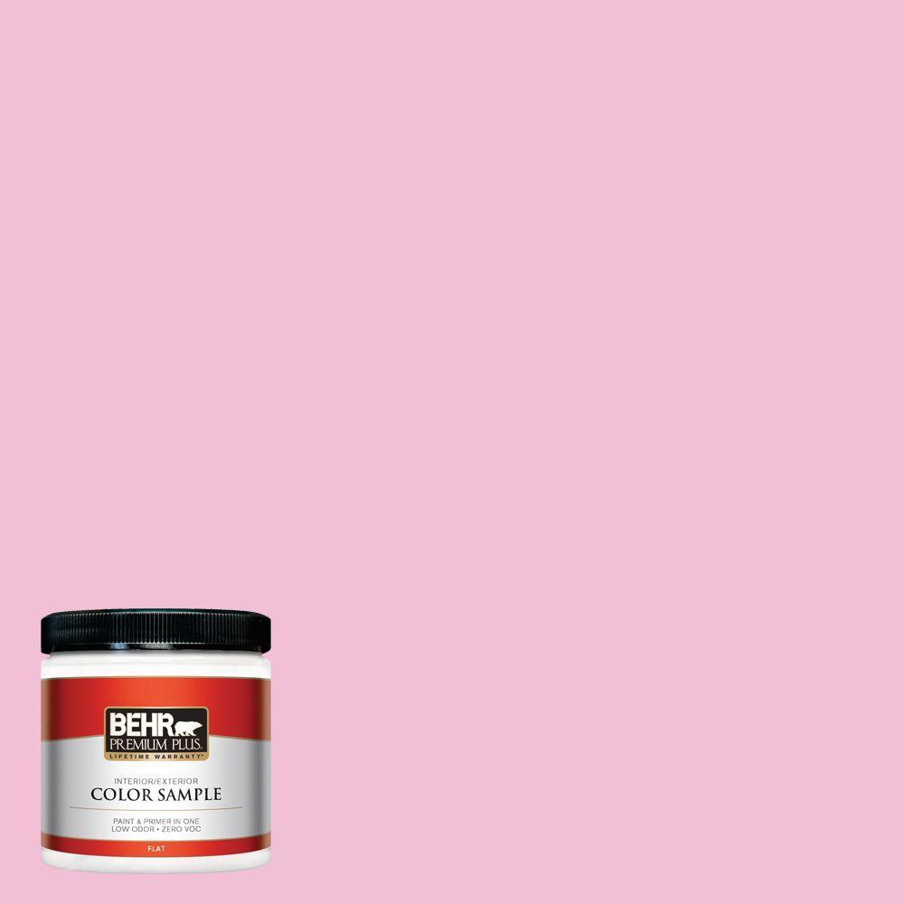 8 oz. #100B-4 Pink Chintz Interior/Exterior Paint Sample