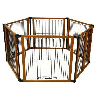 26.5 in. H x 12 ft. W x 1 in. D Perfect Fit Pet Gate