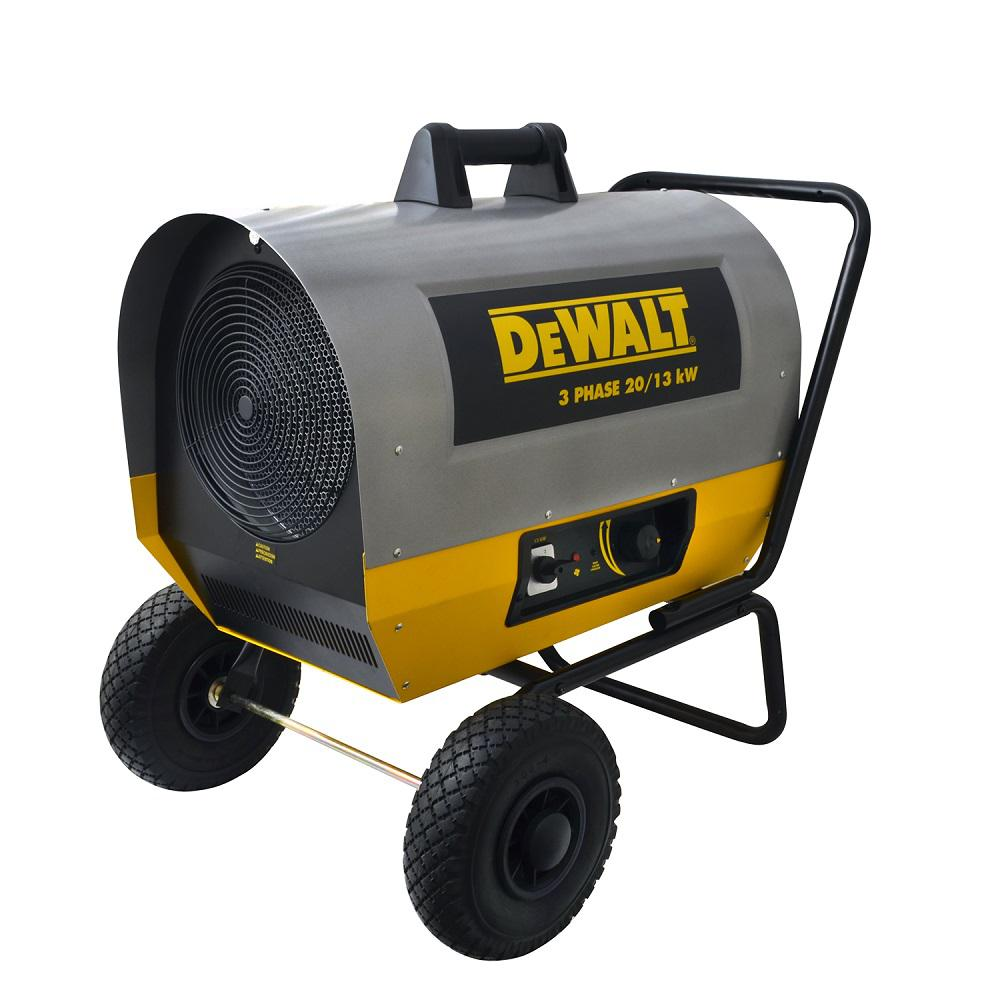 Dewalt 20 000 Watt 240 Volt Forced Air Electric Heater