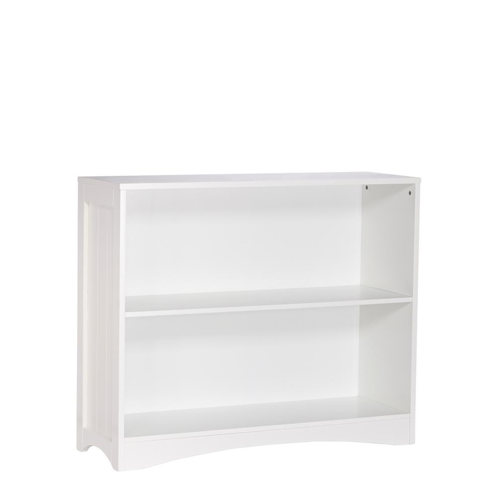RiverRidge Kids White Open Bookcase