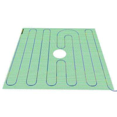 4 ft. x 48 in. 120-Volt TempZone Shower Warming Mat (Covers 16 sq. ft.)