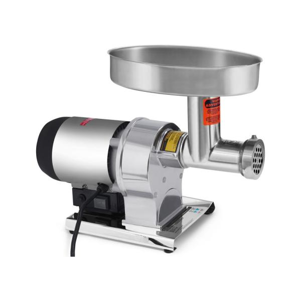 Weston Butcher Series #8 0.5 HP Electric Meat Grinder with Sausage Stuffing Kit