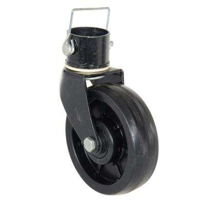 6 in. x 2 in. Poly Trailer Jack Nose Caster
