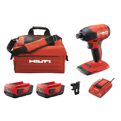 22-Volt Lithium-Ion 1/4 in. Hex Brushless Cordless SID 4 Impact Driver Kit with (2) 22/4.0 Batteries, Charger and Bag