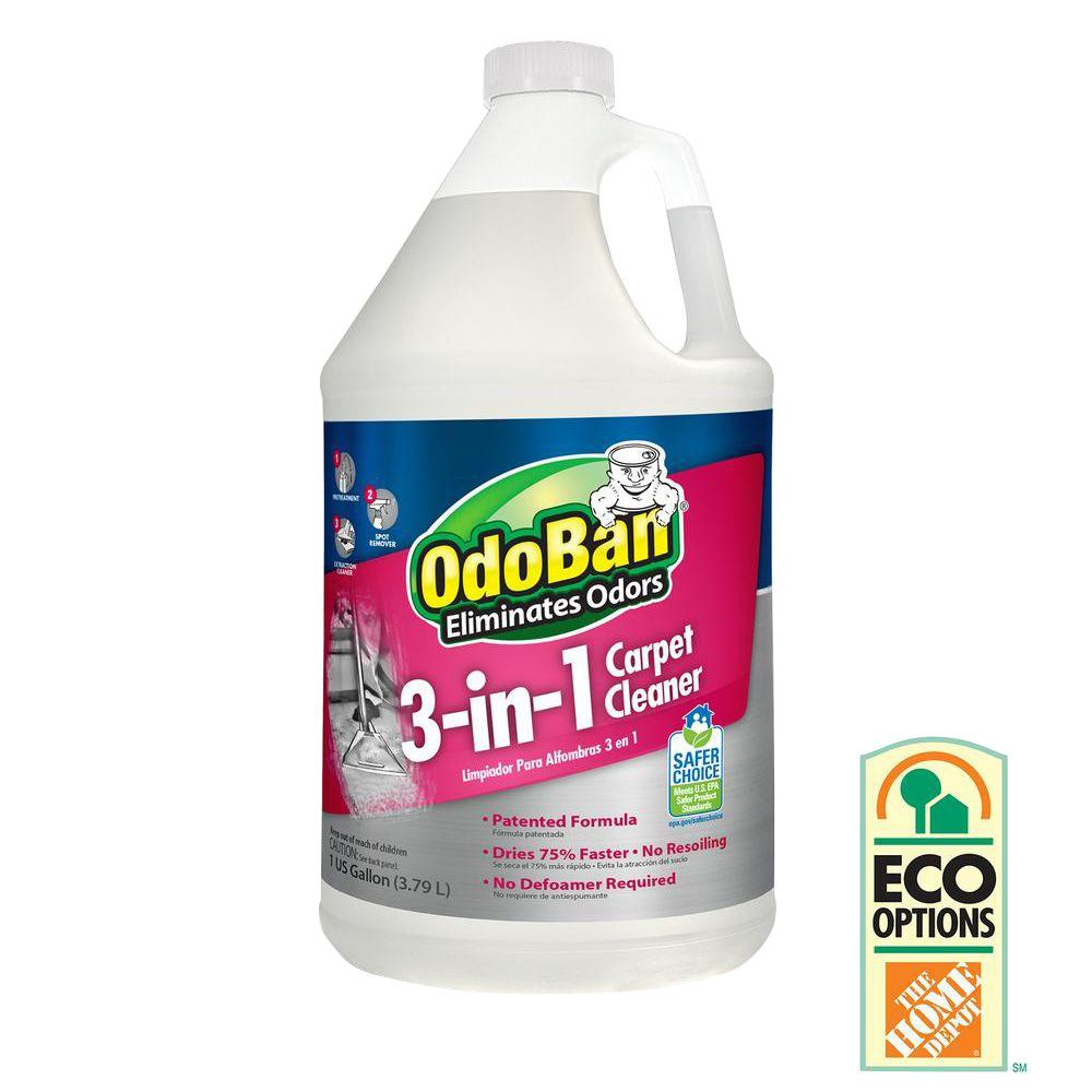 OdoBan 128 oz. 3-in-1 Carpet Cleaner-960261-G - The Home Depot