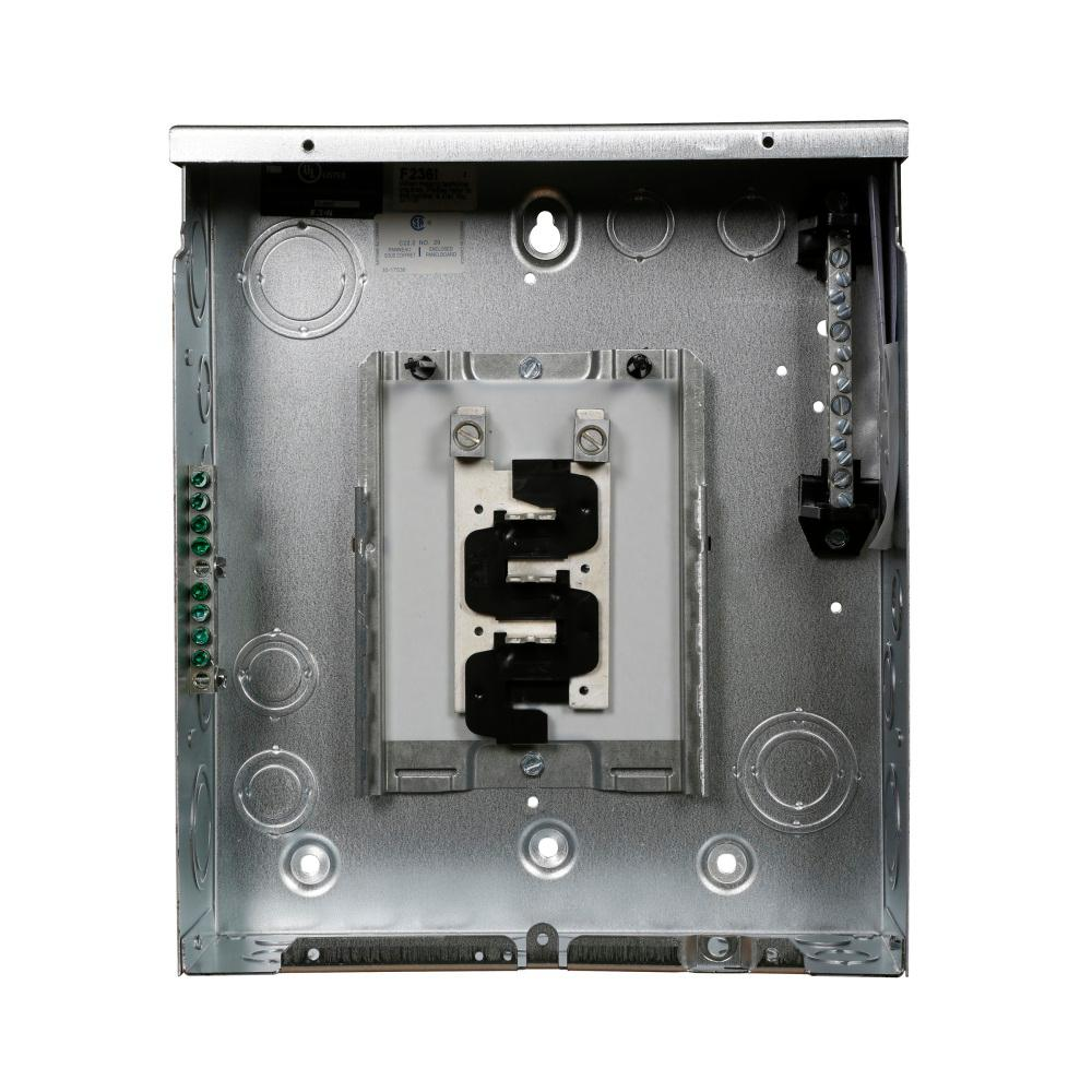 BR 125 Amp 6-Space 12-Circuit Indoor Main Lug Flush with Ground