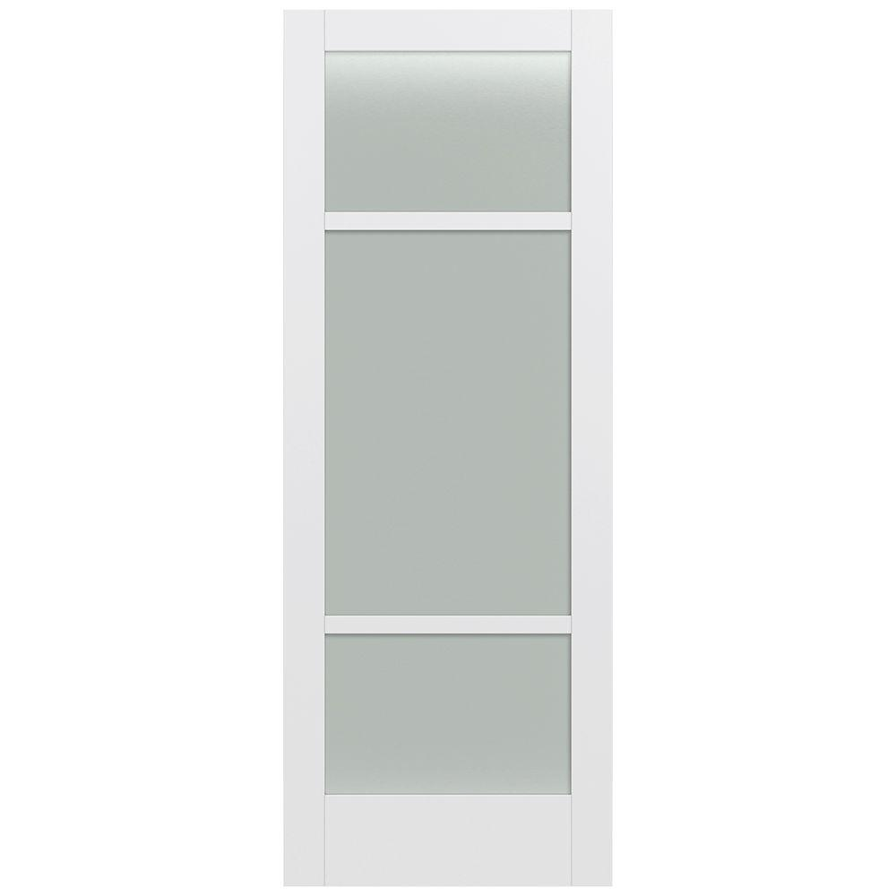 36 in. x 96 in. MODA Primed PMT1031 Solid Core Wood