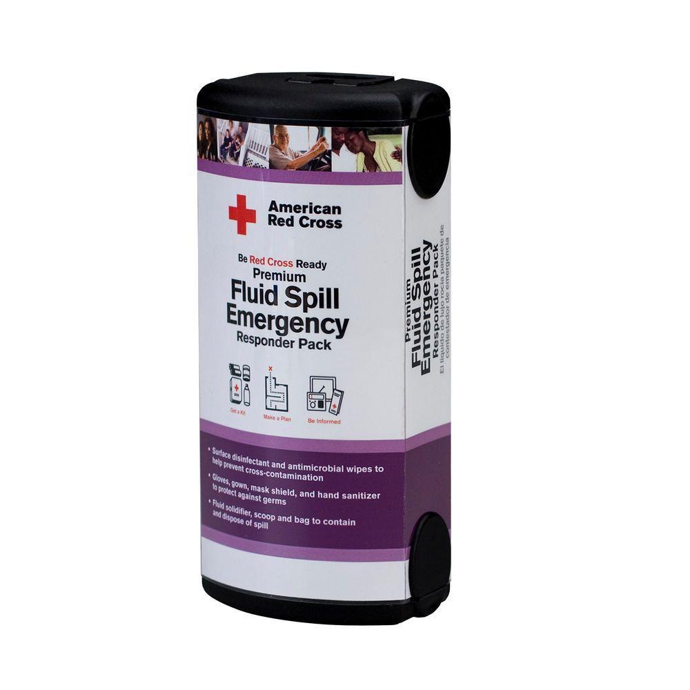 13-Piece Fluid Spill Emergency Responder Kit