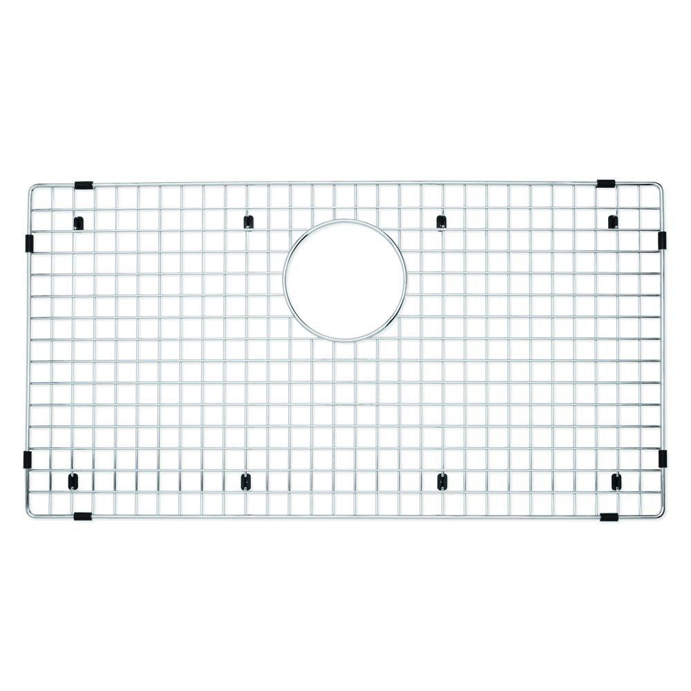 Captivating Blanco Stainless Steel Sink Grid For Fits Precis Super Single 221206   The  Home Depot