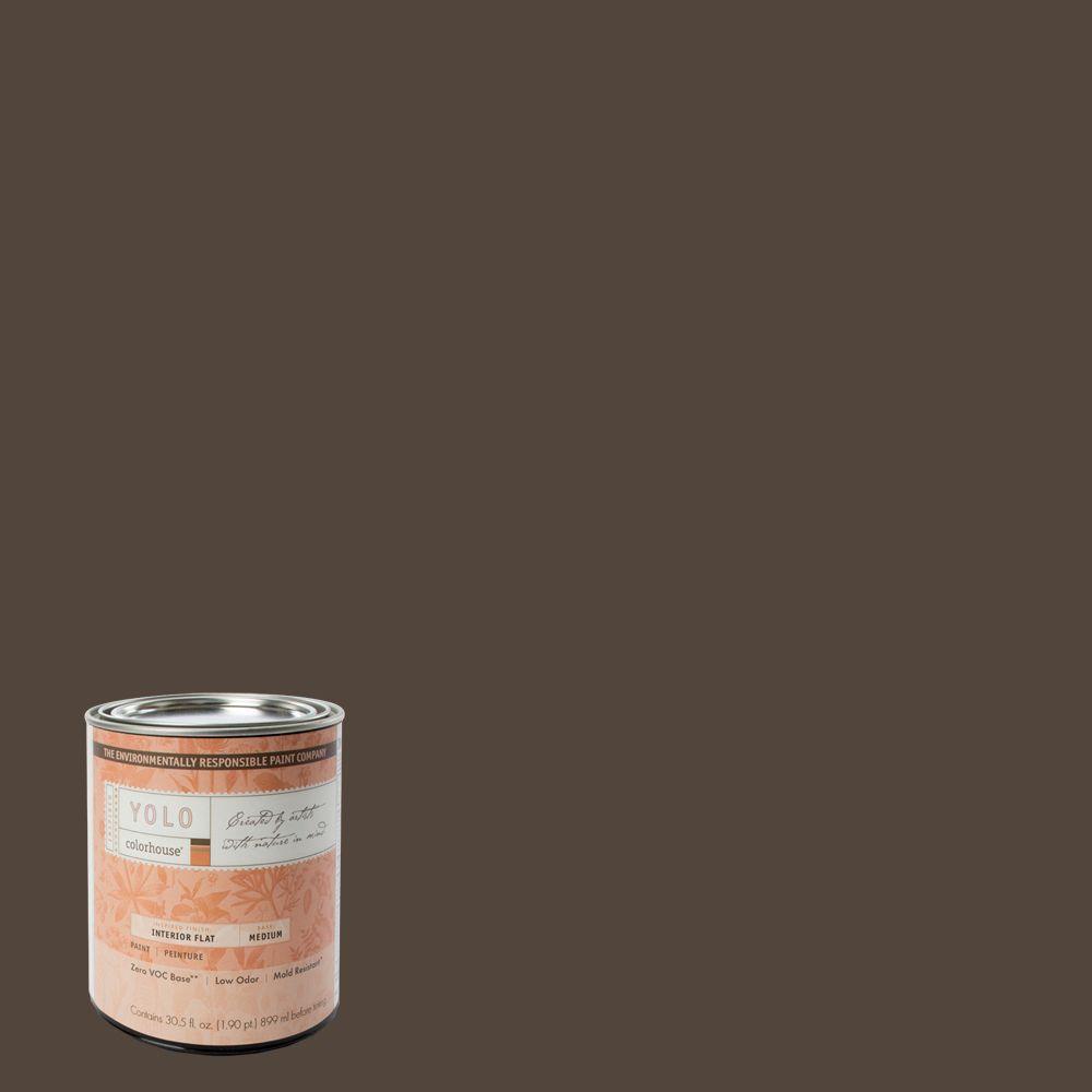 YOLO Colorhouse 1-Qt. Nourish .05 Flat Interior Paint-DISCONTINUED