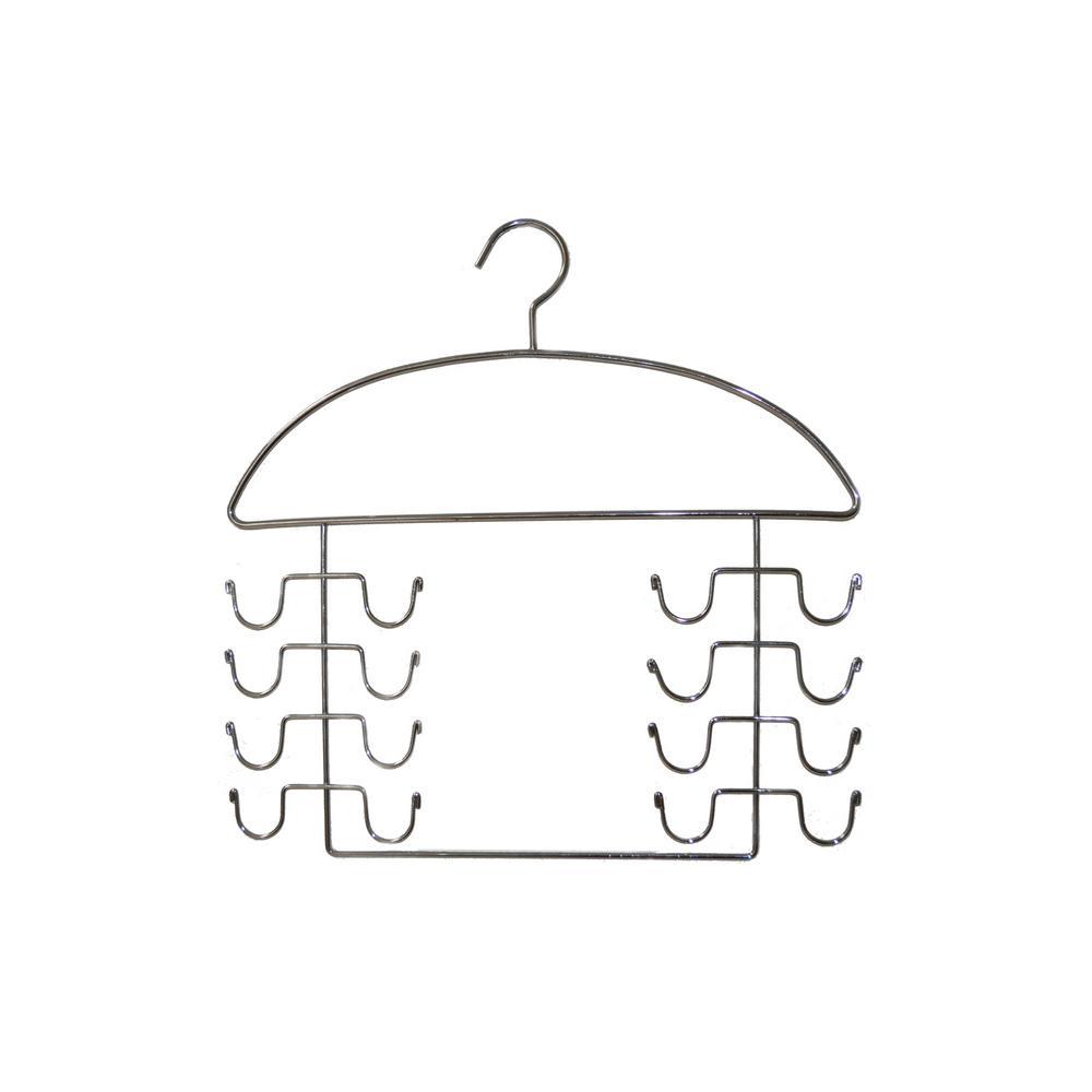 16-Prong Chromed Steel Tank Top Hanger (2-Pack)