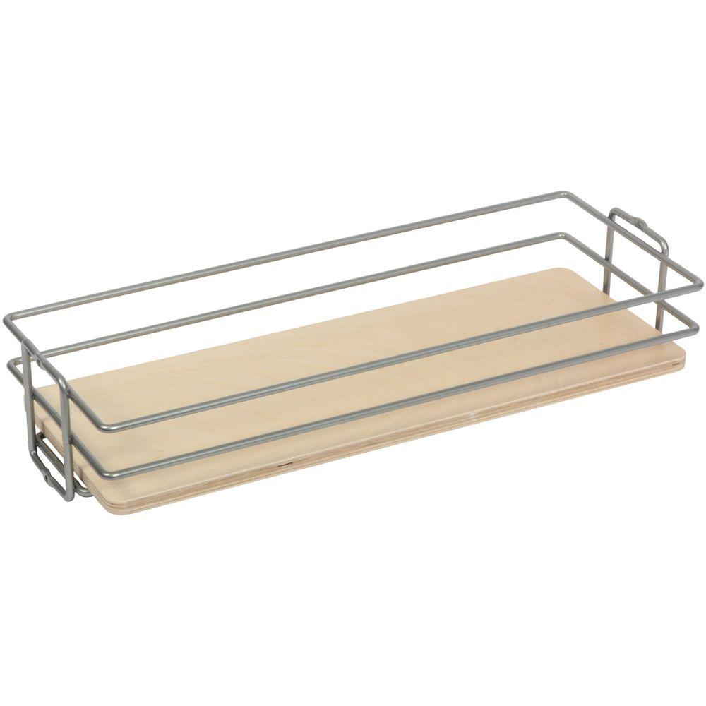11 in. x 20.44 in. x 4.13 in. Pantry Organizer Basket