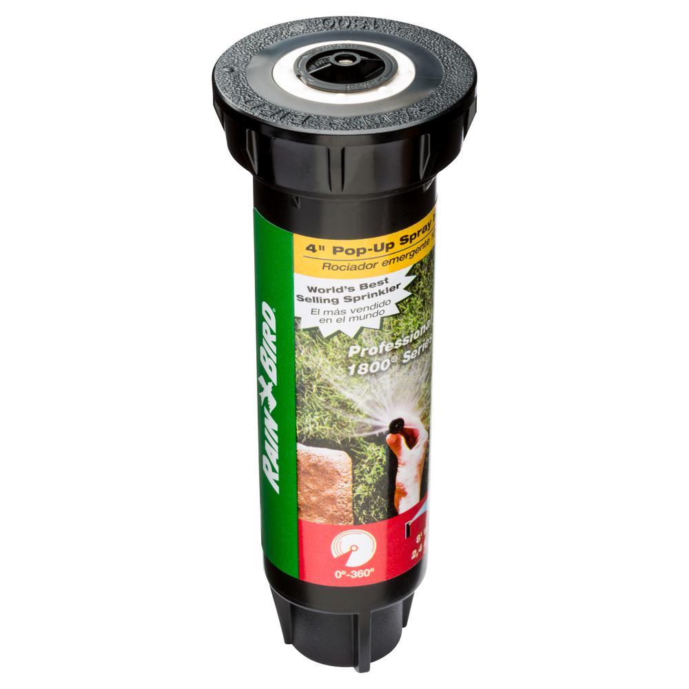 Rain Bird 1804 Professional Pop-Up with 8 ft. Distance Adjustable Nozzle