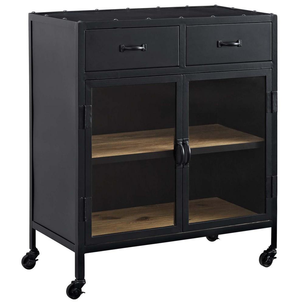 Charm Black Cabinet