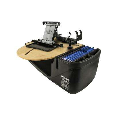 Roadmaster Car Desk with Phone Mount, Tablet Mount and Printer Stand Blonde