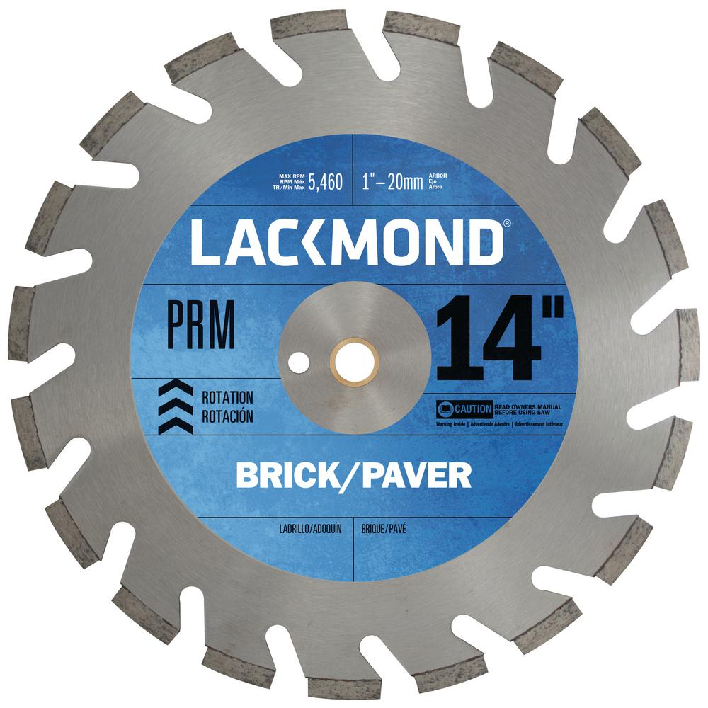 DCP-PRM Hard Materials Blade 14 in. x 0.125 in. - 1 in. 20 mm Arbor