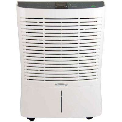 95-Pint Dehumidifier with Internal Pump in White