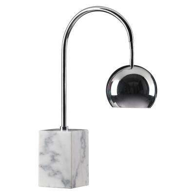 Run 26.4 in. Chrome Table Lamp