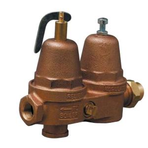 Cash Acme 1/2 inch Bronze CBL Pressure Regulating and Relief Boiler Valve by Cash Acme