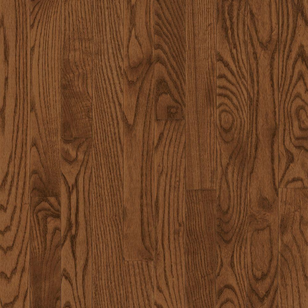 American Originals Brown Earth Red Oak 3/4 in. T x 3-1/4