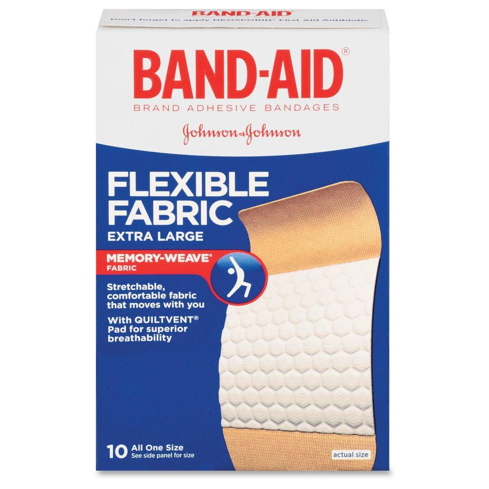 Flexible Extra Large Bandage (10 per Box)