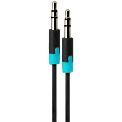 3 ft. Audio Cable with 3.5 mm Jack - Black