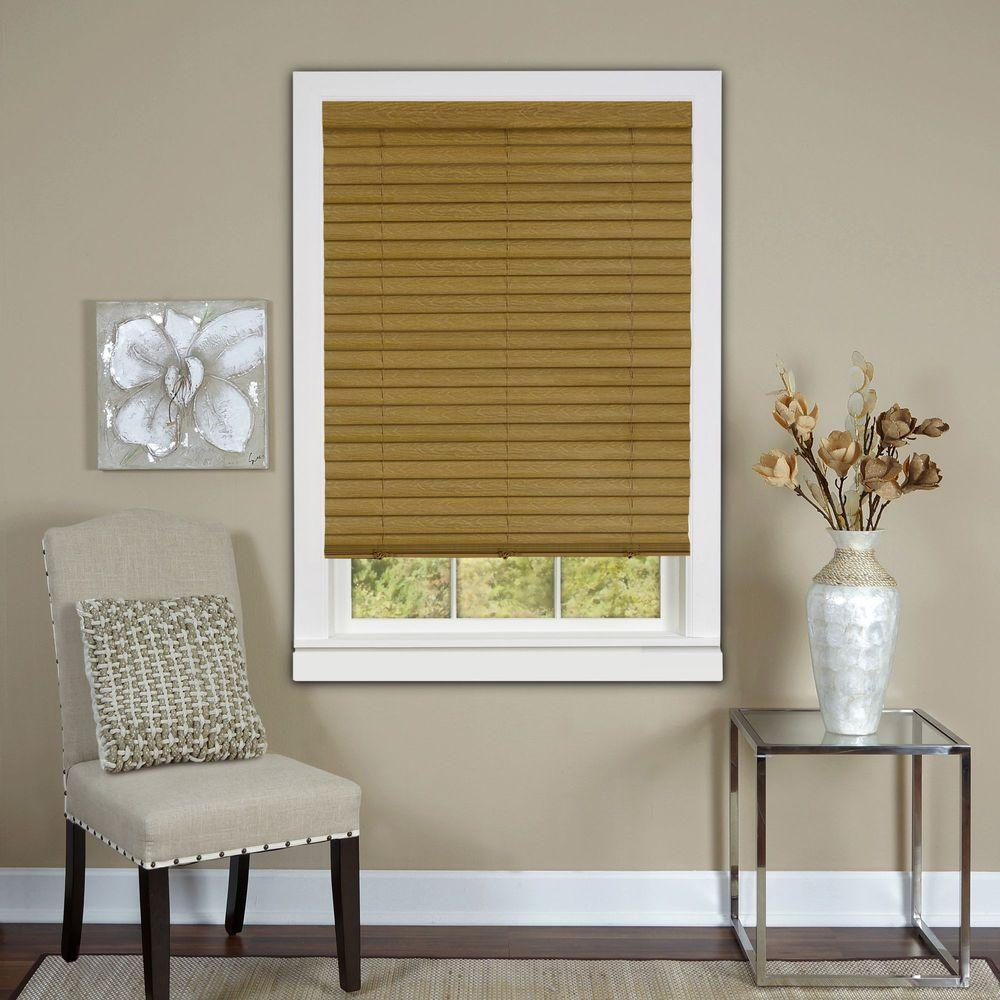Woodstone Cordless 2 in. Vinyl Luna Venetian Blind - 27 in.