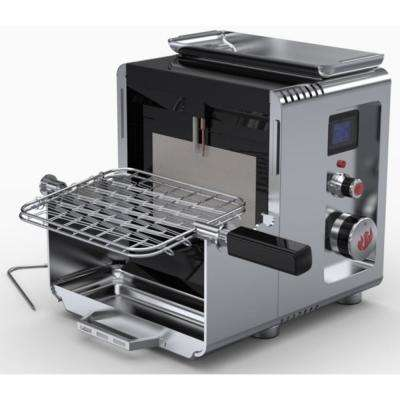 LM800 Portable Compact Propane Gas Grill in Stainless