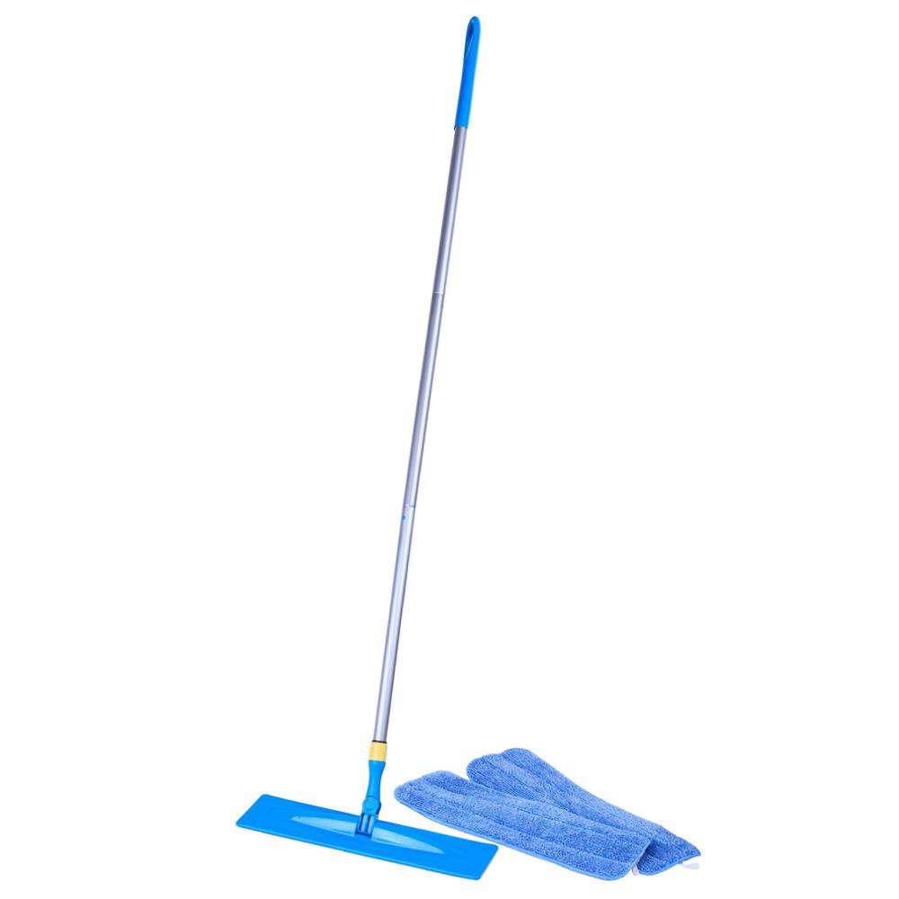 Microfiber Swivel Mop with 2 Reusable Mop Pads