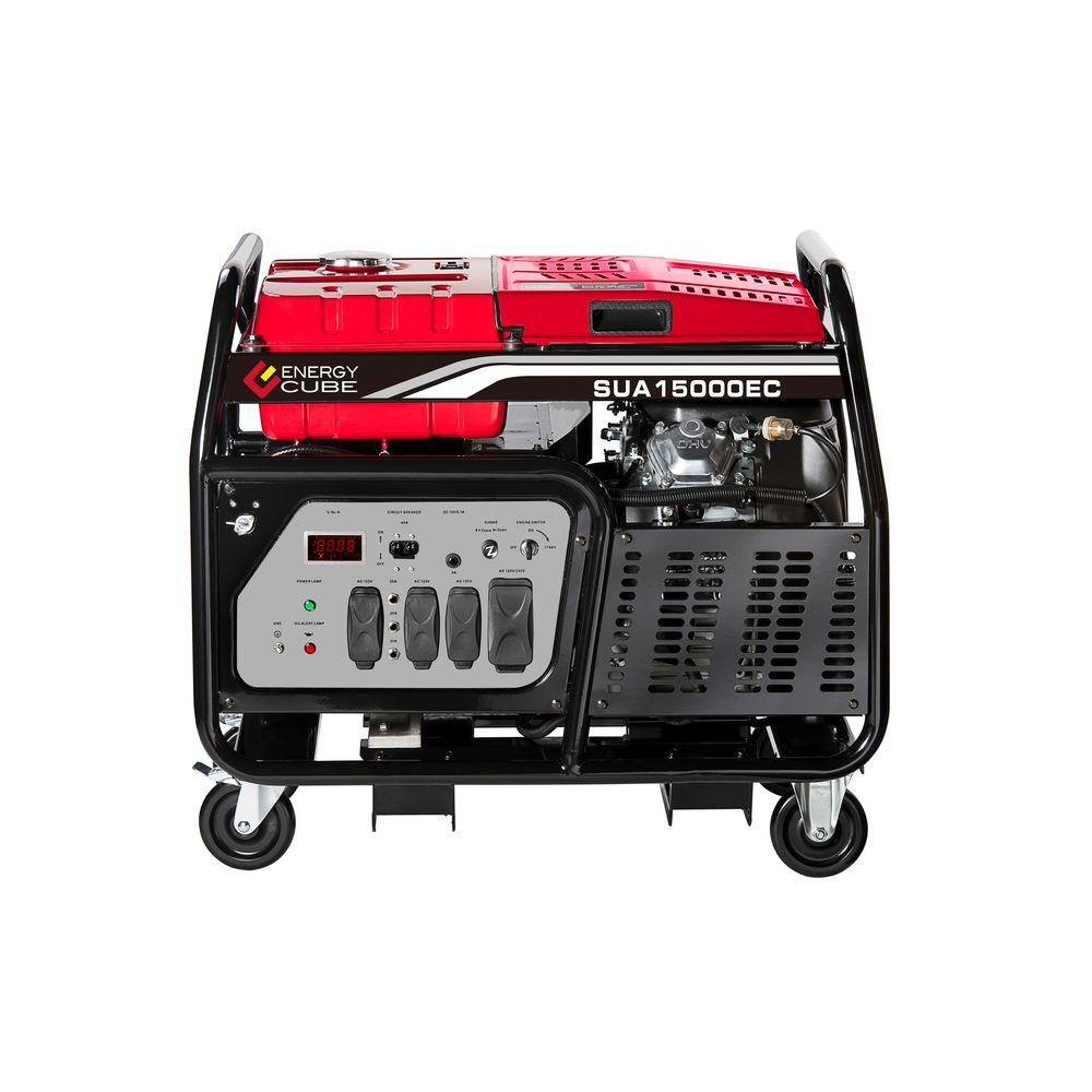 15000-Watt Gasoline Powered Electric Start Generator