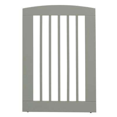Ruffluv 36 in. H Wood Single Panel Grey Pet Gate