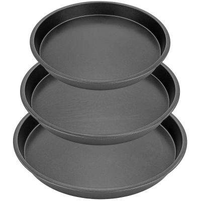 8 in., 9 in., 10 in. 3-Piece Round Baking Pan