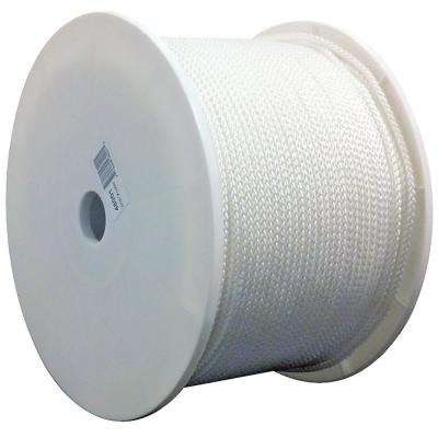 7/32 in. x 1000 ft. General Purpose Tie Down Cord, White