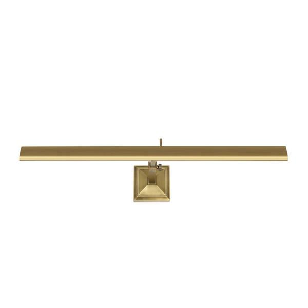 Hemmingway 24 in. Burnished Brass LED Adjustable Picture Light, 2700K