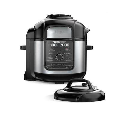 Foodi 8 Qt. Stainless Steel Pressure Cooker and Air Fryer