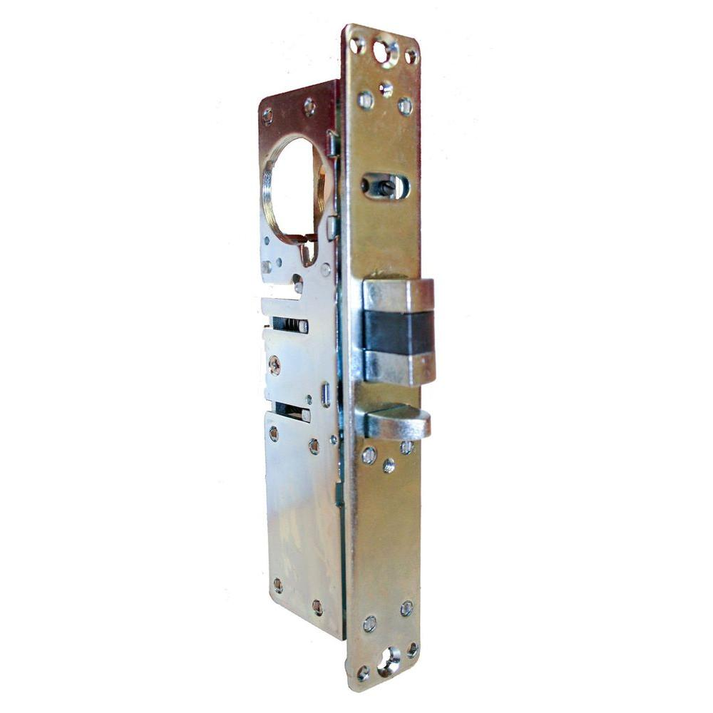 1-1/8 in. Aluminum Left-Handed Deadlatch Function Mortise Lock