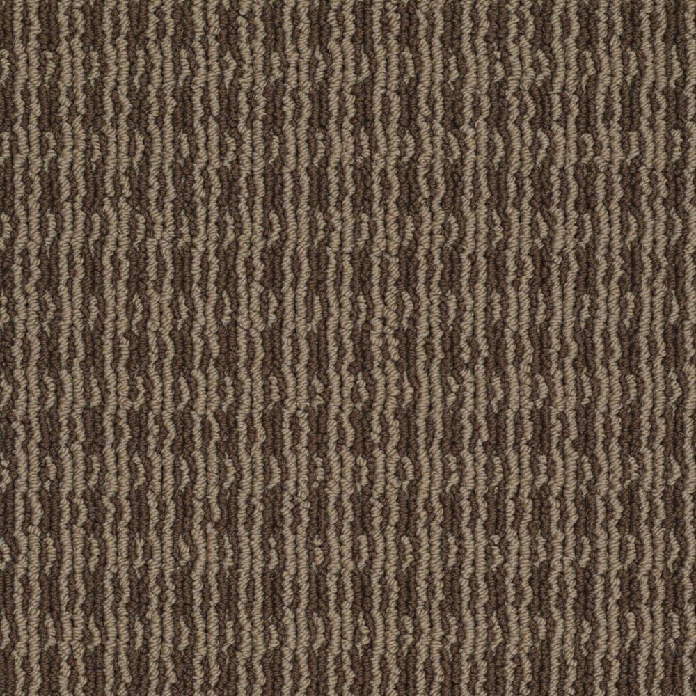Martha Stewart Living Waltonsworth - Color Molasses 6 in. x 9 in. Take Home Carpet Sample