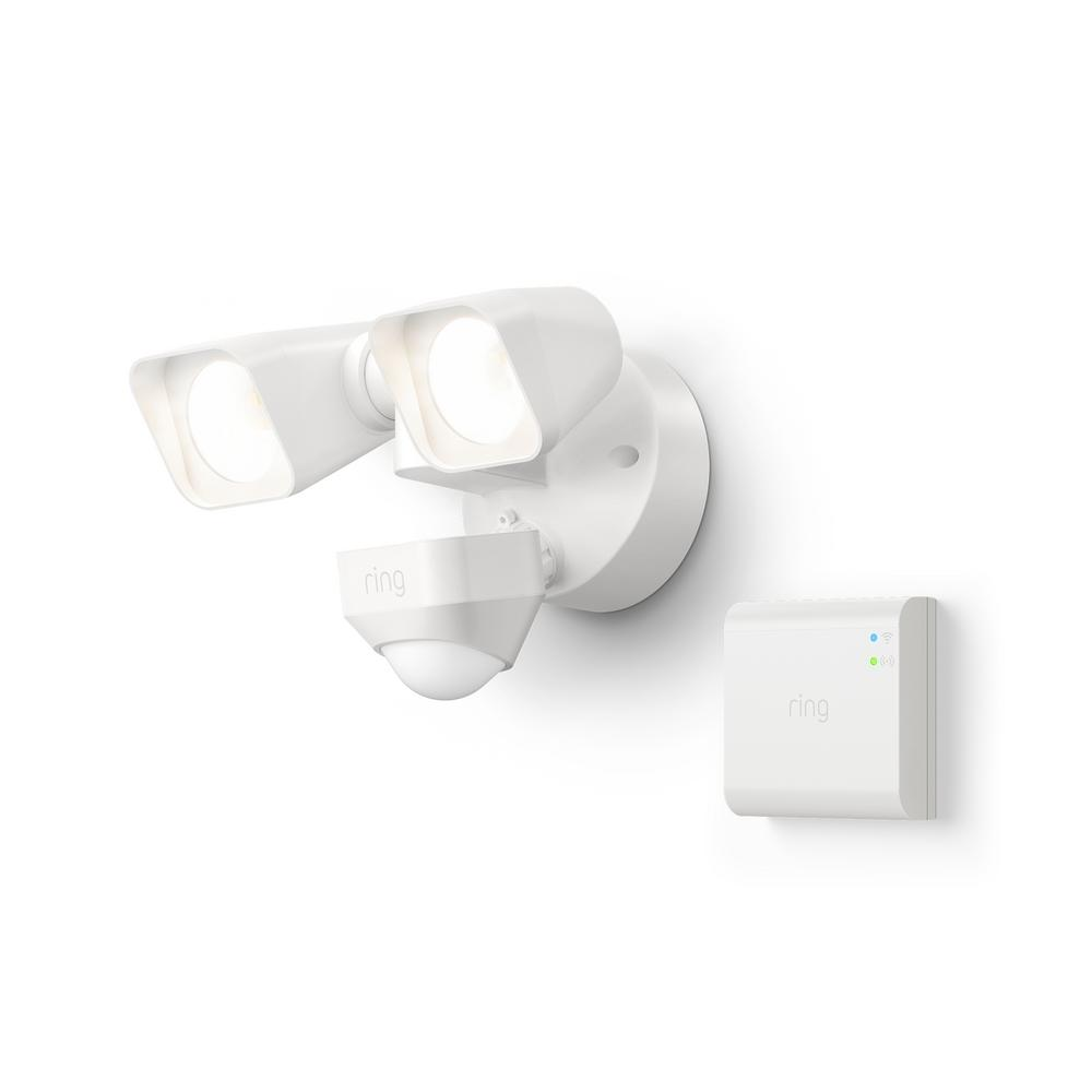 Ring Smart Lighting Weather-Resistant Motion-Activated Pathlight Works w// Alexa