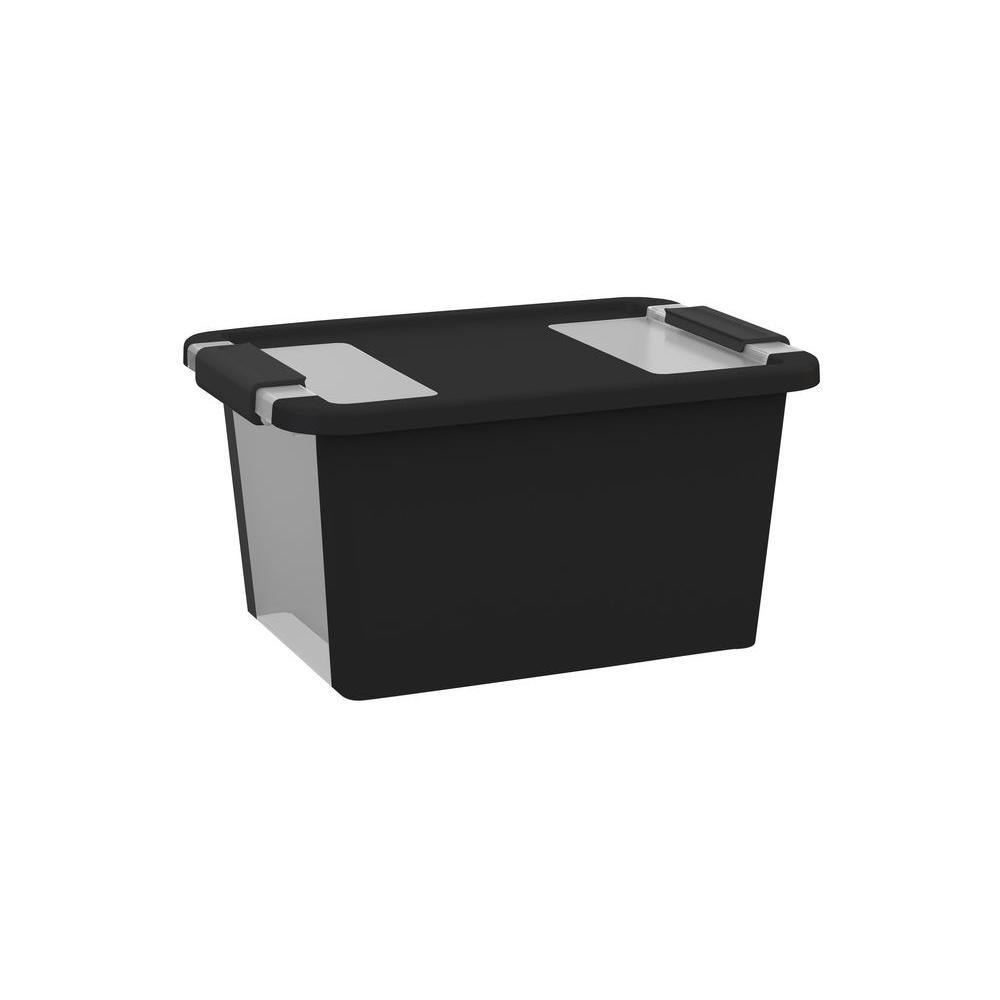 KIS Bi-Box S 11.9 qt. Storage Box in Black  sc 1 st  Home Depot & KIS Bi-Box S 11.9 qt. Storage Box in Black-FG008452202 - The Home Depot