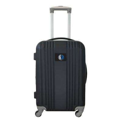 NBA Dallas Mavericks 21 in. Hardcase 2-Tone Luggage Carry-On Spinner Suitcase