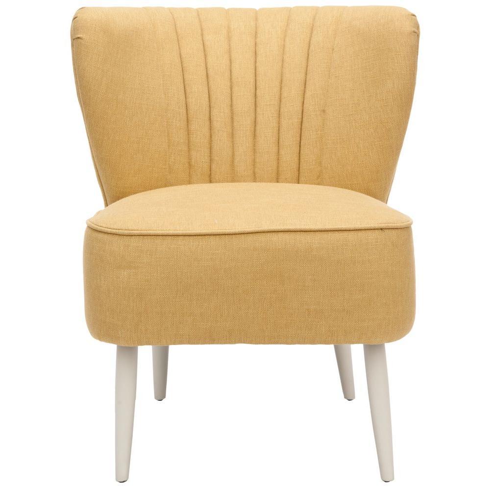 Safavieh Morgan Gold Cotton Blend Accent Chair