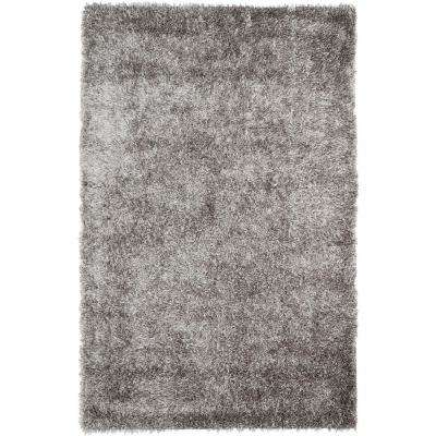New Orleans Shag Gray 10 ft. x 14 ft. Area Rug