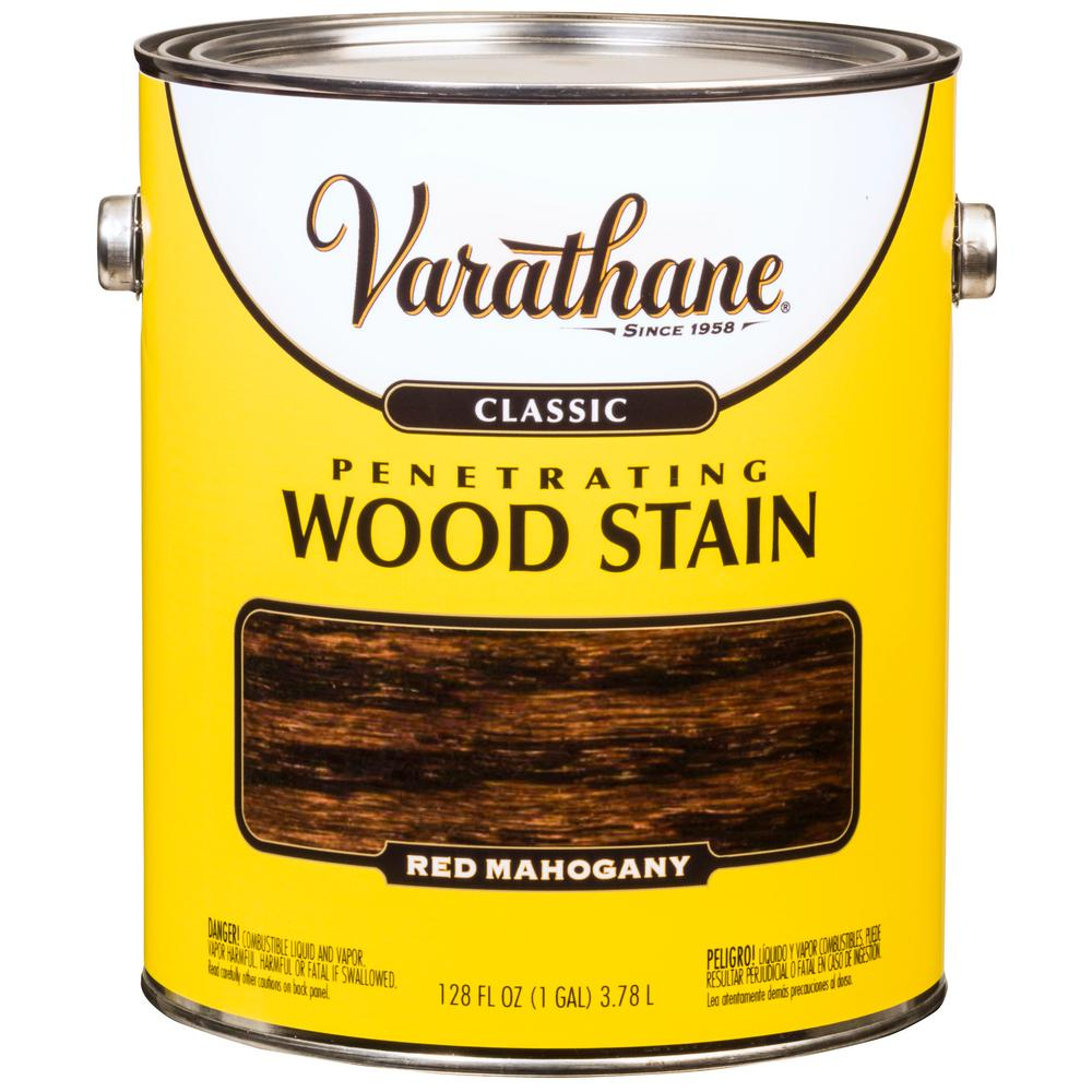 Red Mahogany Classic Wood Interior Stain (2 Pack)
