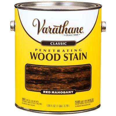 1 gal. Red Mahogany Classic Wood Interior Stain (2-Pack)