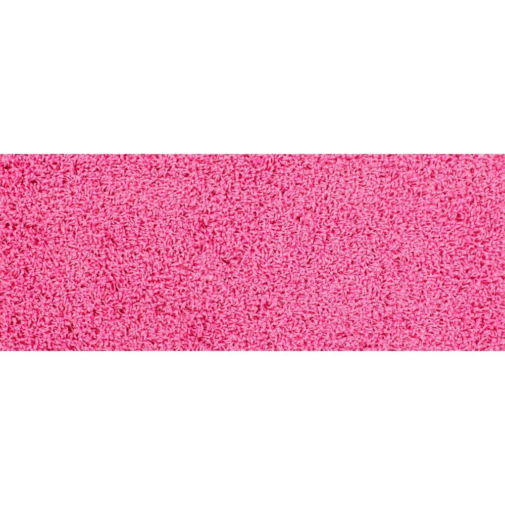 Simply Seamless Pop Culture Pink 10 in. x 31 in. Traditional Padded Self Sticking Stair Tread